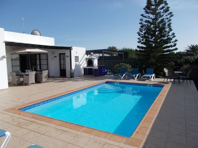 Photo for 3 Bed Villa, Private Pool, Air Con, Wi Fi, Walking distance to town & beach