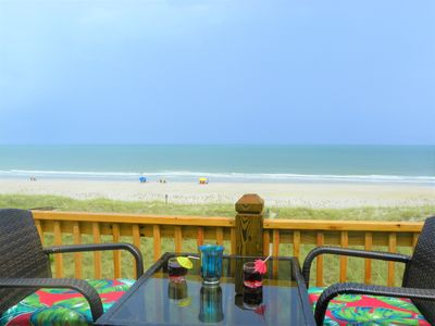 Photo for Panoramic Oceanfront Views, Private Beach Walkway, Pool, Close to Boardwalk