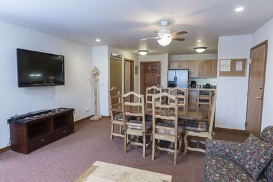 Open Dining, Living and Kitchen