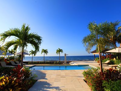 Photo for Authentic Beachvilla with cook, private pool, staff and lush tropical garden