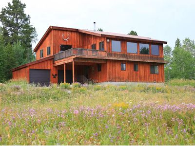 Photo for Magnificent Views, 3,000 sqft home, 7 miles to West Yellowstone, New Hot tub!