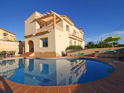 Photo for 3 bedroom Villa, sleeps 9 with Pool, Air Con and WiFi
