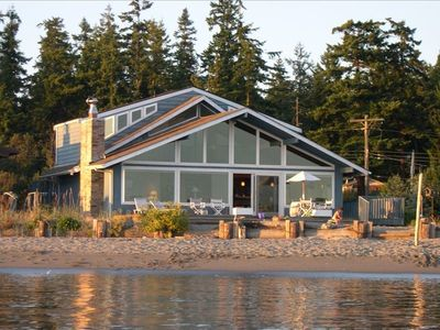 Photo for Blue Heron Beach House on Beautiful Whidbey Island -Mutiny Bay