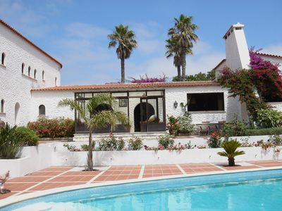Photo for Spacious Traditional Portuguese Villa on 5* Praia del Rey Golf Resort