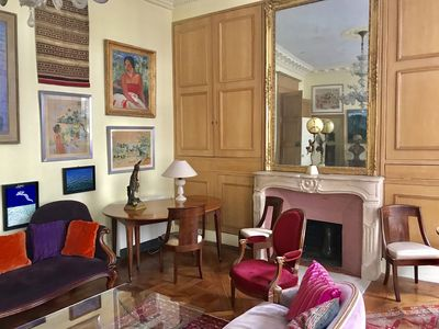 Photo for Heart 6th arrondissement, Cheap, beautiful luxury property from 18h century