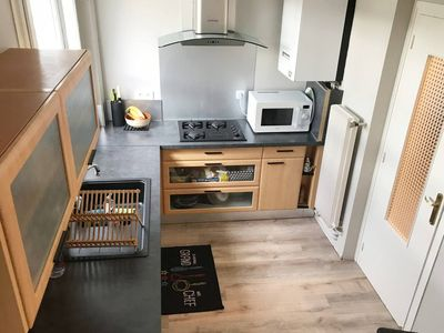Photo for 1 bedroom, 1 bathroom in an Appt 5min from the motorway and 10m from the train station