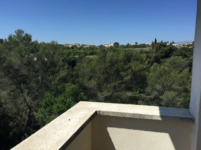 Photo for PROMOTION SEPTEMBER - Apartment terrace with a beautiful view
