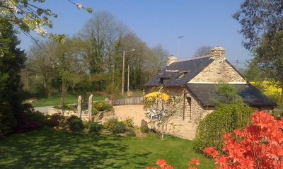 Photo for PROMOTION!  Location: old Breton house, stone, in the countryside