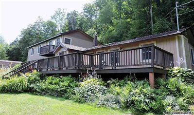 Photo for Hike or just Relax in the Catskill Mountains, NY! 4BR/2BA-Hot Tub-Fireplace-Deck