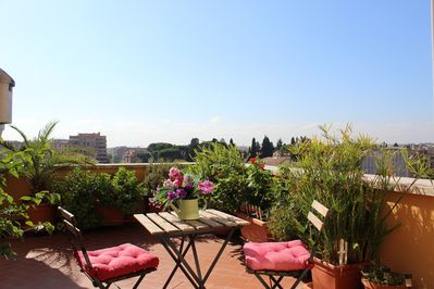 Terrazza 29 Holiday Home Beautiful Penthouse In The Center Of Rome Quartiere V Nomentano