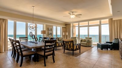 Photo for What a View!!  New Phoenix Gulf Shores 4BR Beauty!! Water Slide! Beachfront!