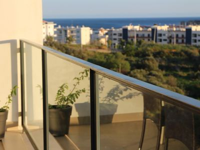 Photo for Marina Village, Top floor, with beatiful view of Lagos marina and pool area.