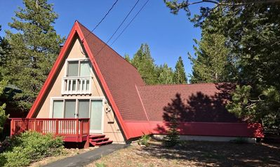 Photo for Charming Tahoe Donner A-Frame Very Close to Ski Area