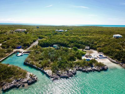 Calypso Hill Private Waterfront Estate with Marina.  and Boat.