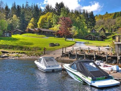Photo for Holiday resort Loch Tay 3 Bed Lodges, Killin  in Perthshire - 6 persons, 3 bedrooms