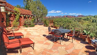 Photo for Unique Red Rock Country Estate with Pool, Hot Tub and Superb Views.