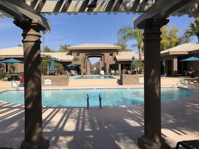Photo for Luxury, Ground Floor, 2 Bedroom, 2 Bath condo in quiet, safe, gated community!