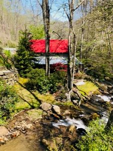 Photo for Private Creek Access, Upscale Rustic Charm, Gorgeous Landscaping, Boat Rentals, Close to Cashiers!