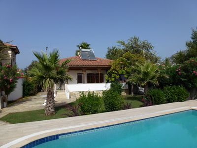 Photo for Turkish Style Villa, Private Pool and Stunning Mountain Views.