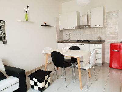 Photo for Red Ginger: short rentals Oristano Apartment Black White