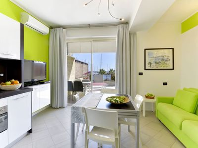 Photo for Apartment Verde (SNM181) in Santo Stefano al Mare - 4 persons, 1 bedrooms