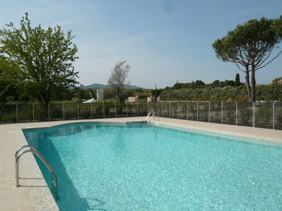Photo for Beautiful house T3 in new residence with swimming pool - Gulf of St Tropez Grimaud