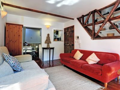 Photo for Largo do Mitelo apartment in Pena with WiFi & integrated air conditioning (hot / cold).