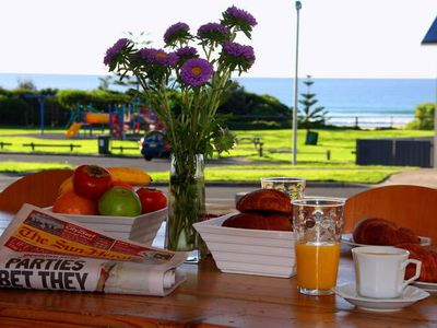 Photo for Kiama Aspect on Jones Beach 100 metres away and pet friendly (Dogs only)