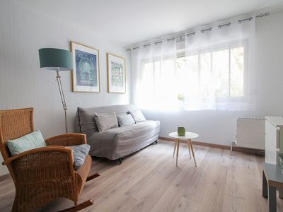 Photo for COZY & SUNNY STUDIO - STEPS FROM CATALANS BEACH