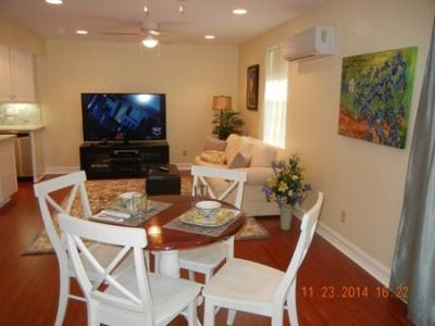 Open family/dining area