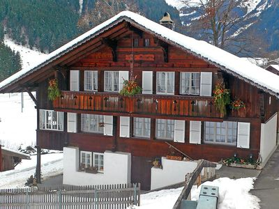 Photo for Apartment 1.5 km from the center of Grindelwald with Internet, Parking, Balcony, Washing machine (44401)