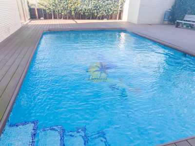 Photo for Penthouse 6 pax with pool in La pineda (Salou)