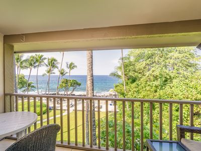 Photo for Condo w/ oceanfront views & beach access - WiFi included!