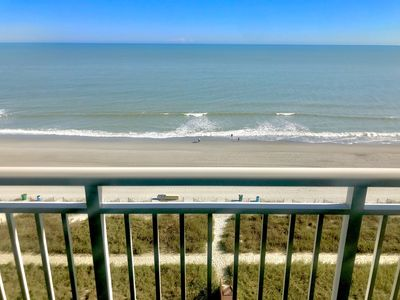 Photo for Oh, What a View! Oceanfront 2 BR 10th floor At the Camelot