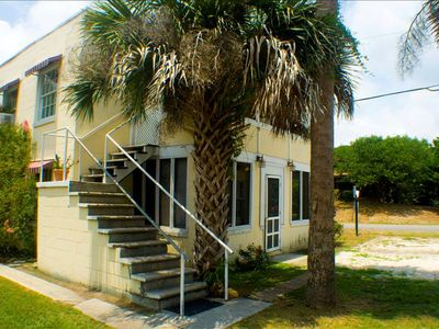 Photo for Rogers Folly Up LOW COST 2 Bedroom 1 Block from Beach and Center St. !!!
