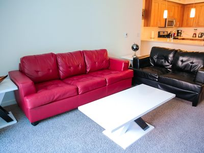 Photo for Fitness center w/top of the line equipment. Saline pool & outdoor kitchen!