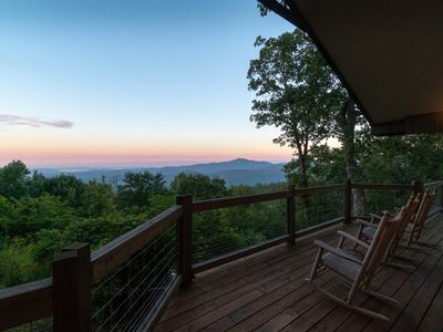 Photo for Spectacular Blue Valley Mountain Views minutes from Main Street Highlands.