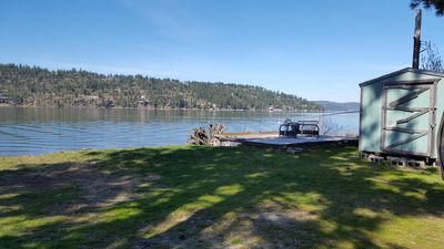 Photo for Coeur D Alene Lake Beach Front Lot and Docks.