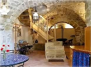 Medieval vaulting downstairs