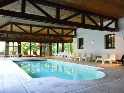Photo for Luxurious relaxation house in the center of Spa with large garden, indoor pool