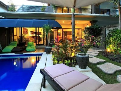 Photo for Newly modernised 2 bed villa, private complex, Legian
