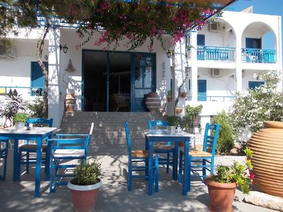 Photo for Τraditional sea view hotel next to the beach