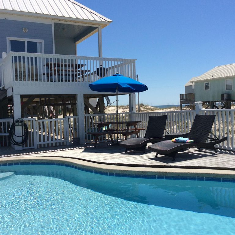 Great Views; Steps To Beach; Private Pool; Dog Friendly; Two Master Bedrooms