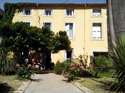 Photo for Large villa near Canal du Midi and great beaches of the Mediterranean sand