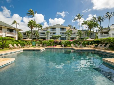 Photo for Ocean & Pool View One Bedroom at Poipu Kapili