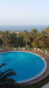 Photo for Apartment 75 m2 sea view and pool - Marazul del Sur - Costa Adeje