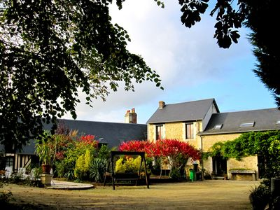 Photo for Character house in the countryside near Cabourg / 14 people