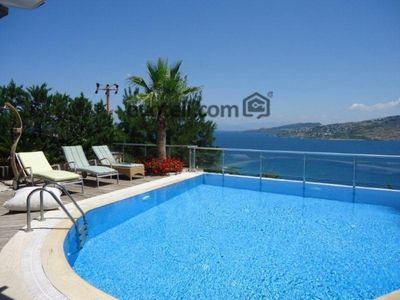 Photo for Villa with Private Pool in Bodrum Villa Tugrul. This beautiful villa with stunning views of the Aegean sea is decorated to a high standard.