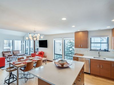 Photo for Enjoy this Ideally Located Condo with a Spacious Open Floor Plan that is Just Steps from the Slopes