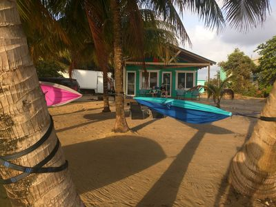 Photo for Cobia Beach Cottage. Caribbean beach front